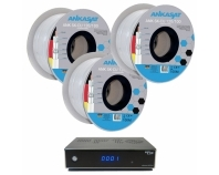 Kabel-Paket: 3x ANK SK-CU 120/100, 1x FTE Receiver Gratis!