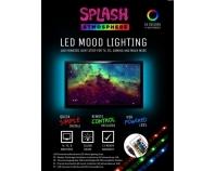 Slamdog SPLASH ATMOSPHERE, LED-Hintergrundbeleuchtung für TV-Geräte, mit Fernbedienung