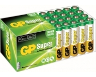 GP 03024AB40, LR03 Super Alkaline, AAA, Micro, Multipack Blister (40)