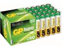 GP LR03, 40er Box, Super Alkaline, AAA, Micro