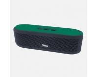 S2G FRESH grün/schwarz, Bluetooth-Lautsprecher mit FM-Radio
