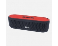 S2G FRESH rot/schwarz, Bluetooth-Lautsprecher mit FM-Radio