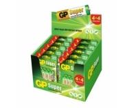 GP Thekendisplay Super Alkaline 4+4 Mix, 5xAA + 5xAAA (je BL8)