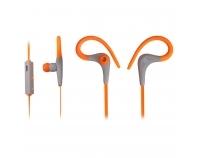 iMOVE SH01 orange, Sport-Ohrhörer mit Bluetooth, Mikrofon, ultraleicht