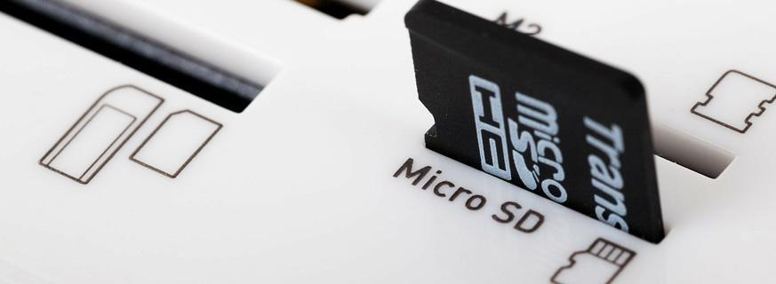 micro-SDHC Speicherkarten