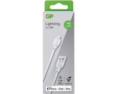 GP 1 m, Lightning auf USB-A Ladekabel, CB13, Apple MFI lizensiert