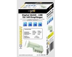 Digital QUAD-LNB, 0,2dB Rauschmaß