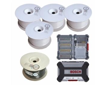 AC100-Paket inkl. Gratis BOSCH-Bohrer-Bit-Set