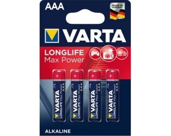 VARTA 4703, Longlife Max Power, Micro, AAA, LR03, BLister (4)