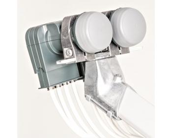 DAZ 102, Multifeed-Halterung bis 2 LNB