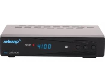 ANKARO® ANK DSR 2100, ANKARO® Full HD Digitaler Satelliten Receiver