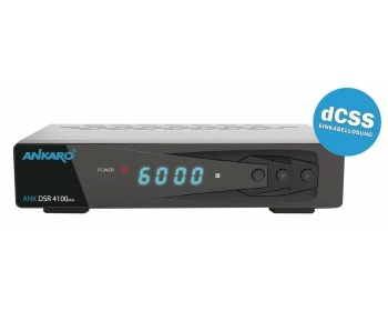 ANKARO® ANK DSR 4100plus, ANKARO® Full HD Digitaler Satelliten Receiver