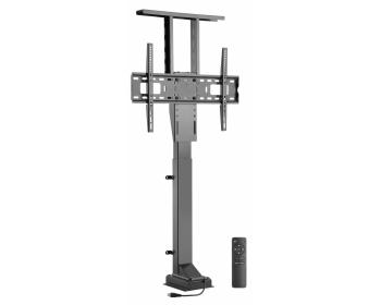 """HP33-2L, Motorisierter TV Einbaulift zum integrieren in Möbel, für Bildschirme 37- 65"""" (94-165 cm), Belastung bis 50 kg, mit FB"""