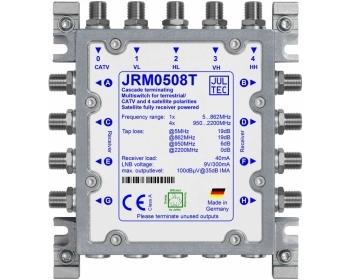 JRM0508T, Multischalter 5 Eingänge/ 8 Ausgänge, kein Netzteil erforderlich!