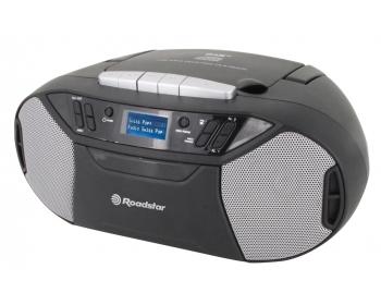 RCR-777UD+, Boombox mit DAB+/CD/MP3/Kassette/USB/AUX-IN, 2x32Watt