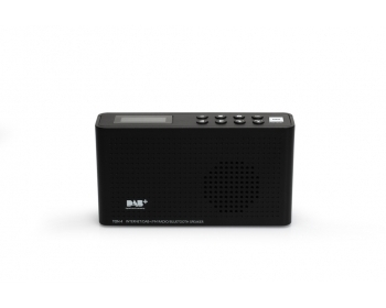 Opticum TON4 schwarz, UKW/DAB+/Internet-Radio mit Bluetooth