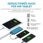 GP MP10MA Powerbank 10000mAh, blau, 3 USB-Anschlüsse Typ C, 3A