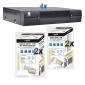 U4128HD-Paket: 4x U4128HD, 4x LNB gratis