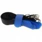 Klettbinder 200x20, schwarz/blau, 10Stk.