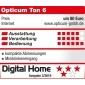 Opticum TON6 schwarz, UKW/Internet-Radio mit USB-Ladebuchse, Relax-Taste, Wetterinformationen