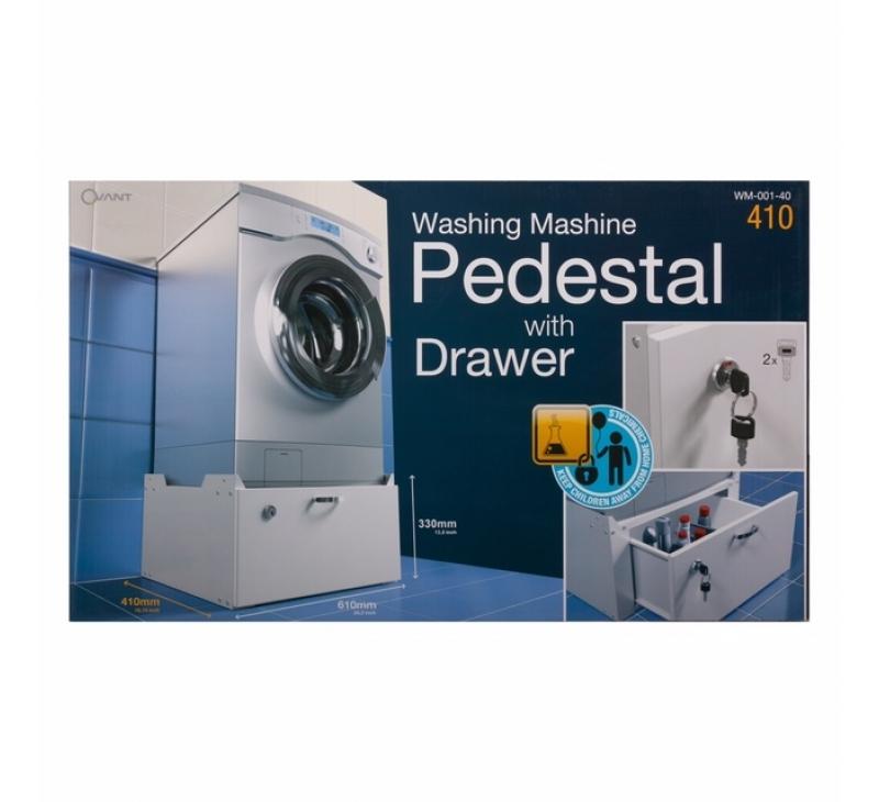WM-001-40, Waschmaschinen-Unterschrank mit Schublade