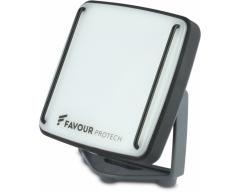 GP FAVOUR L0817, Baustellen-Licht, 1x Li-Ion 18650, 515 Lumen, IP67