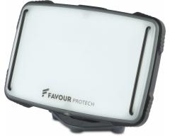 GP FAVOUR L0927, Baustellen-Licht, 1x Li-Ion 18650, 1350 Lumen, IP67