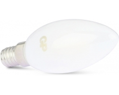 GP LED Lampe, E14, 2,1W, Kerze Frosted, 080411