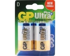 GP Ultra Plus Alkaline, D, Mono LR 20 Blister (2)