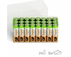 AA Batterie GP Alkaline Super 1,5V 24 Stück