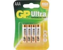 GP LR03, Ultra Alkaline, AAA, Micro, Blister (4)