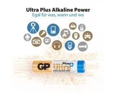 GP LR03, Ultra Plus Alkaline, AAA, Micro, Blister (4)
