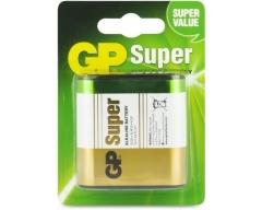 Flachbatterie 4,5 Volt, GP Batteries, Super Alkaline, 030312AC1, 3R12