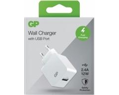 GP WA23, 220V USB Ladestecker mit 1 USB-Anschlüssen 2,4 A Typ-A