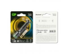 Taschenlampe GP CK12 Schwarz, 20lumen 1X AAA