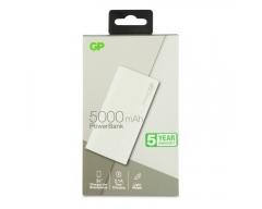 GP B05A Powerbank 5000mAh, beige, 1 USB-Anschluss 2,1A