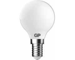 GP LED Lampe, E14, 2,1W, TropfenLampe Frosted, 080435