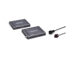 MegaView 141 UHD - HDMI Extender | über 1 CAT 5e/6 Kabel | 4K Ultra HD | 3D | 40 m (4K) - 70 m (1080p) | 10.2 Gbps | Infrarot Rü