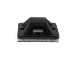 Klebesockel für KB 20x20mm, schwarz, 10St.