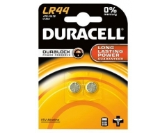 DURACELL LR44, Knopfzelle Blister (2)