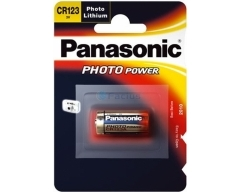 PANASONIC Lithium Power CR123 Blister (1)