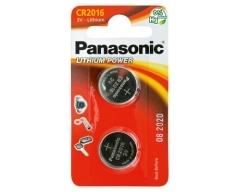 PANASONIC CR2016, Lithium Knopfzelle BL2