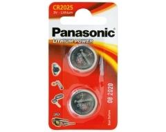 PANASONIC CR2025, Lithium Knopfzelle BL2