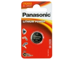 PANASONIC CR2032 Lithium Knopfzelle BL1