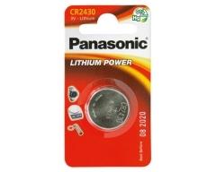 PANASONIC CR2430 Lithium Knopfzelle BL1