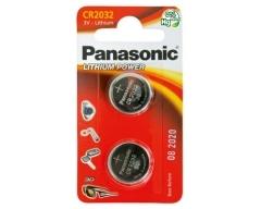PANASONIC CR2032 Lithium Knopfzelle BL2