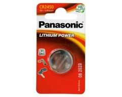 PANASONIC CR2450 Lithium Knopfzelle BL1