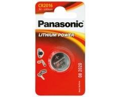 PANASONIC CR2016, Lithium Knopfzelle BL1