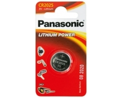 PANASONIC CR2025, Lithium Knopfzelle BL1
