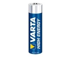VARTA 4903, Batterie Alkaline, Micro, AAA, LR03, 1.5V, High Energy, Box mit 10-Stück